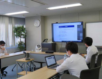 鶴岡高専がオンラインインターンシップ初開催。①日本コンピュータ開発のサムネイル画像