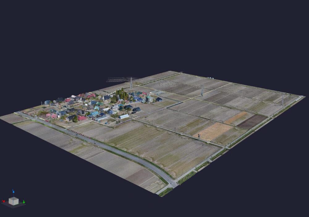 3次元データを活用した高性能な地図。