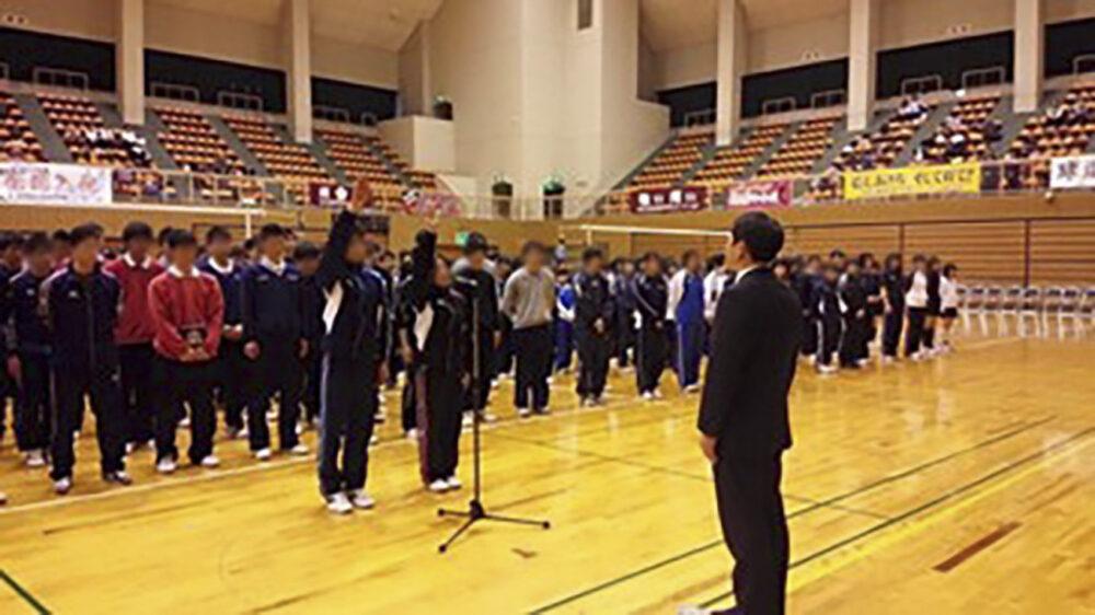 高専インカレ開会式