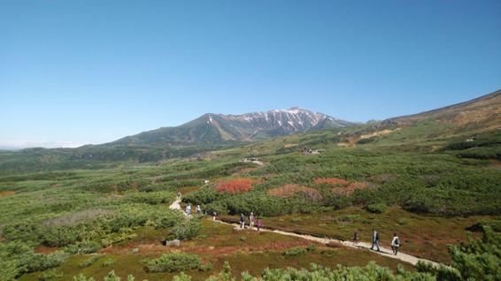趣味で撮影した旭岳