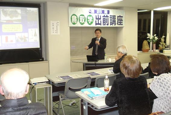 米子高専での出前講座。