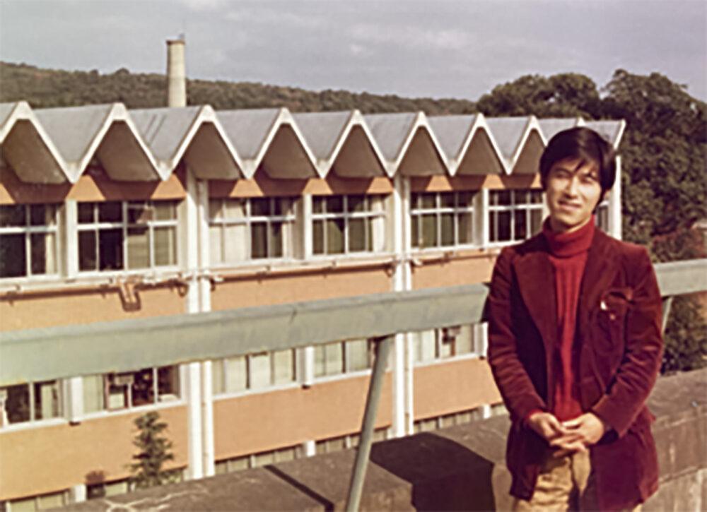 熊本大学大学院での氷室校長。