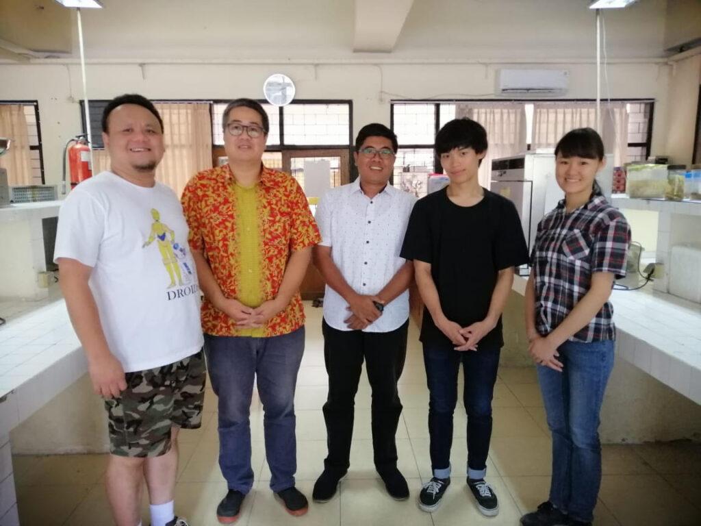和歌山高専の協定姉妹大学である「インドネシア国立スラバヤ工科大学」での研修。