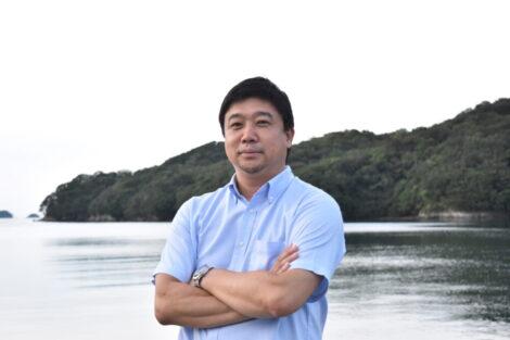 江崎 修央氏の写真